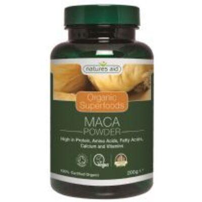 Natures Aid Organic Maca Powder 200g