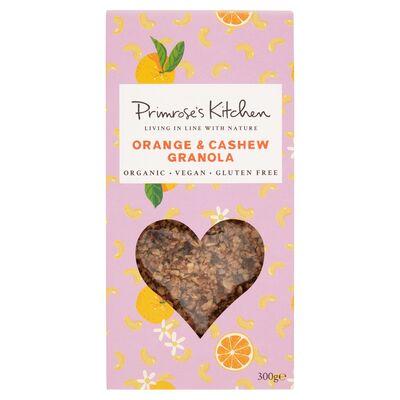 Primrose's Kitchen Organic Orange & Cashew Granola 400g