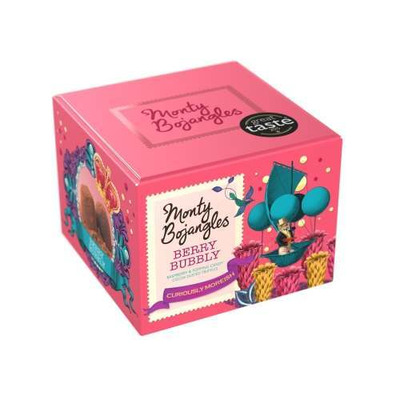 Monty Bojangles Berry Bubbly Cocoa Dusted Truffles 150g