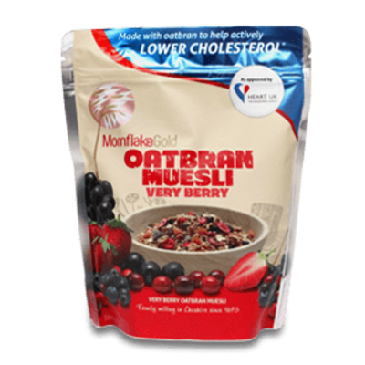 Mornflake Oatbran Muesli Very Berry 500g