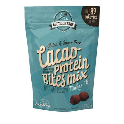Boutique Bake Cacao Protein Bites Mix 215g