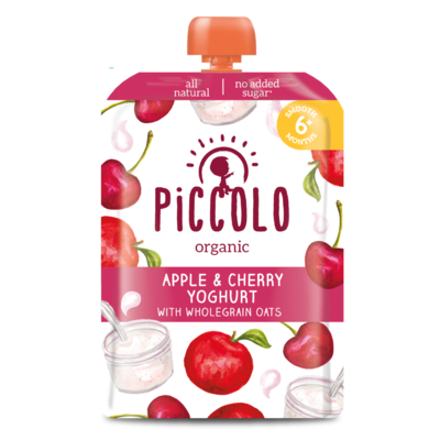 Piccolo Cherry & Yoghurt with Oats 100g