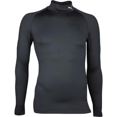Puma Golf Shirt Warm Base Layer Black AW17