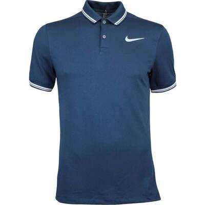 Nike Golf Shirt NK Dry Tipped Armory Navy AW17