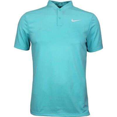 Nike Golf Shirt NK Dry Ultra 2 Blade Light Aqua AW17