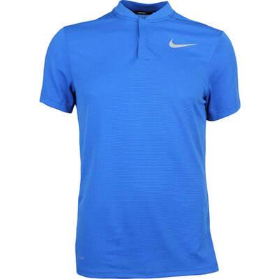 Nike Golf Shirt Aeroreact Blade Blue Jay AW17