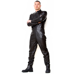 Aleksander Leather Catsuit Preview