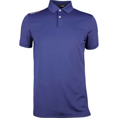 RLX Golf Shirt Solid Airflow French Navy SS18