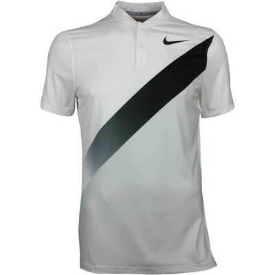Nike Golf Shirt NK Dry Graphic Blade White AW17