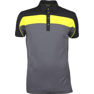 Galvin Green Golf Shirt MANNY Ventil8 Iron Grey AW17