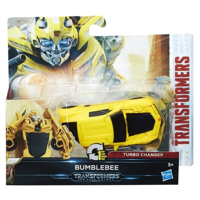 Transformers The Last Knight 1 Step Turbo Changer Bumblebee Figure