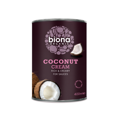 Biona Organic Coconut Cream 400ml
