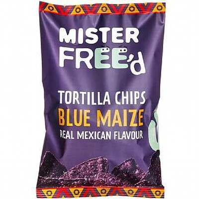 Mister Free'D Blue Maize Tortilla Chips 135g