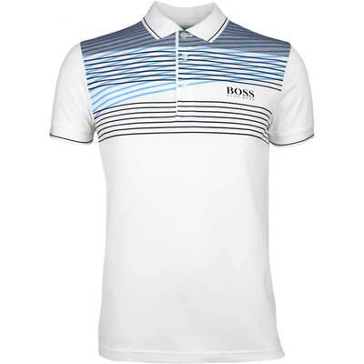 Hugo Boss Golf Shirt Paddy Pro 1 Training White PS18