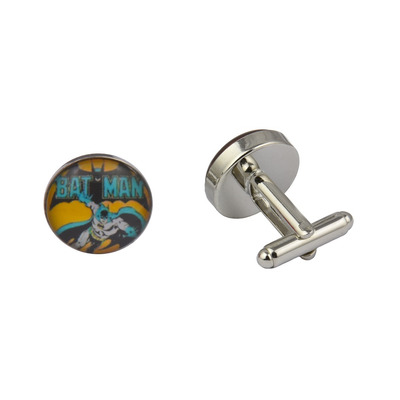 Superhero Retro Batman Cufflinks