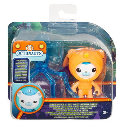 Fisher-price Octonauts Barnacles & Long Armed Squid - Glow In Dark Deep Sea Suit