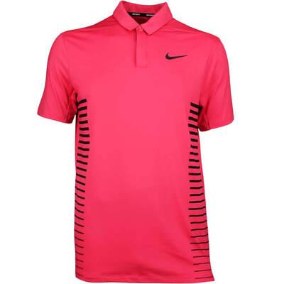Nike Golf Shirt NK Dry Print Tropical Pink SS18