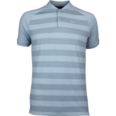 Nike Golf Shirt Zonal Cooling Momentum Blade Ocean Bliss SS18