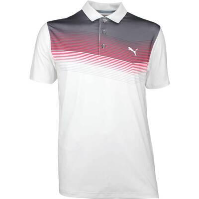 Puma Golf Shirt Road Map Paradise Pink SS18