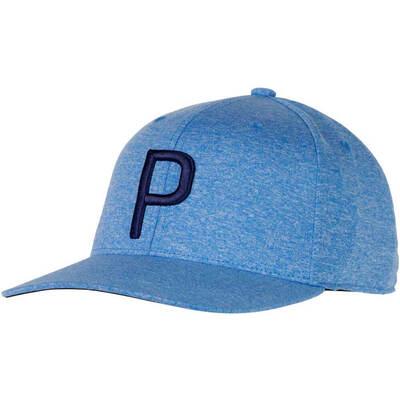 Puma Golf Cap P Snapback Electric Blue Lemonade SS18