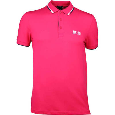 Hugo Boss Golf Shirt Paddy Pro Virtual Pink SP18