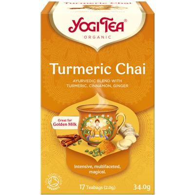 Yogi Tea Turmeric Chai 17 Bags