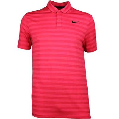 Nike Golf Shirt NK Dry Stripe Tropical Pink SS18