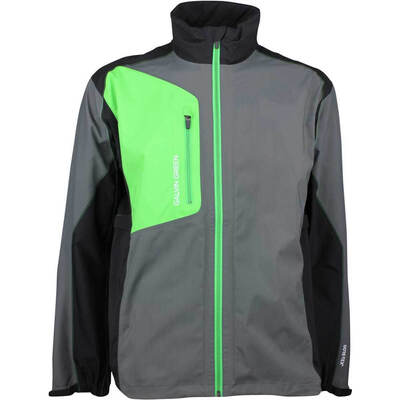 Galvin Green Waterproof Golf Jacket ANGELO Paclite Iron Grey 2018