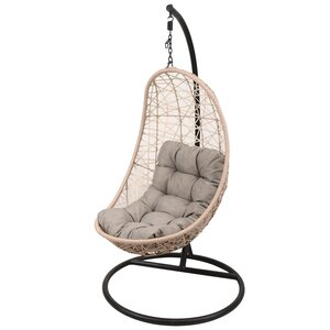 LG Outdoor Monaco Rattan Weave Hanging Garden Egg Chair