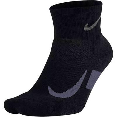 Nike Golf Socks Elite Cushion QTR Black AW18