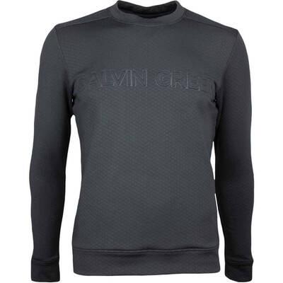 Galvin Green Golf Sweater DRAGO Insula Black SS18