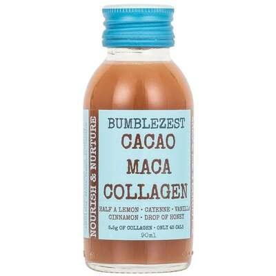 Bumblezest Nourish & Nurture Cacao & Maca Collagen Drink 90ml