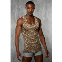 Doreanse 2215 Camouflage Tank Top