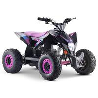 Image of FunBikes T-Max Roughrider 1000w Electric Pink Kids Quad Bike