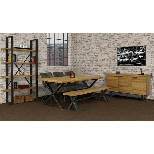 Brooklyn Small Dining Table with 4 Chairs