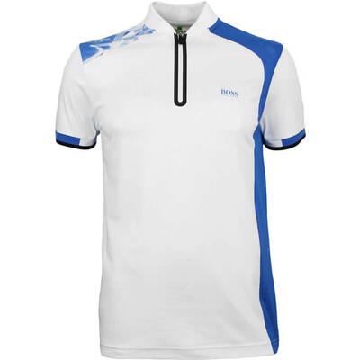 Hugo Boss Golf Shirt Pearotech Training White PF18