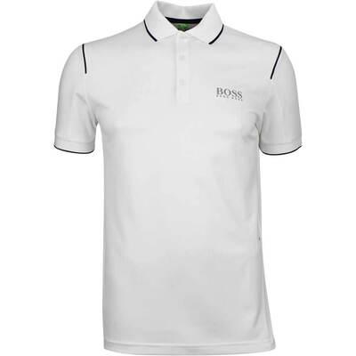 Hugo Boss Golf Shirt Paule Pro 1 Training White FA18