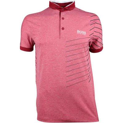 Hugo Boss Golf Shirt Paddy MK 2 Rhubarb FA18