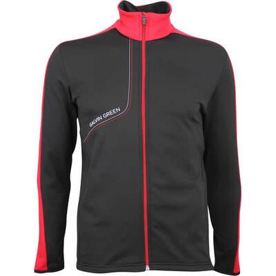 Galvin Green Golf Jacket Dario Insula Black Red AW18