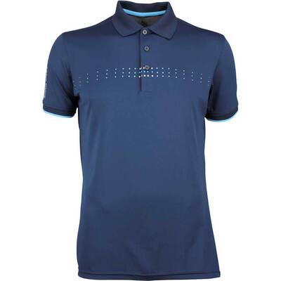 Galvin Green Golf Shirt Milo Navy AW18