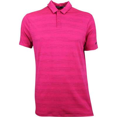 Nike Golf Shirt NK Dry Heather Texture Rush Pink AW18