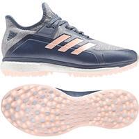 Image of Adidas Fabela X Hockey Shoes 2018 Grey/Pink #UK 3.5
