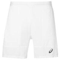 Asics Athlete 7 Inches Mens Tennis Shorts - White, L