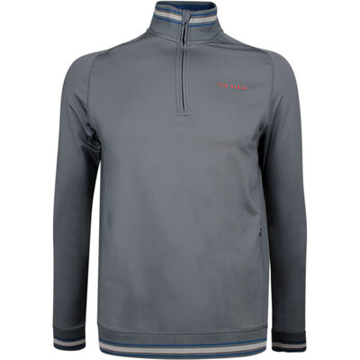 Ted Baker Golf Pullover Comp QZ Grey AW18
