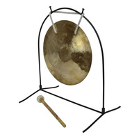 """10"""" Wind Gong with Table Stand and Mallet"""
