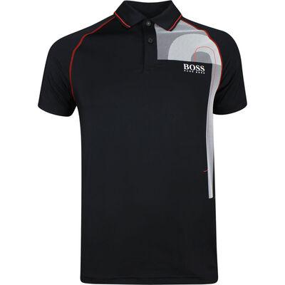BOSS Golf Shirt Paritech Black PS19