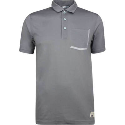 PUMA Golf Shirt Faraday Quiet Shade SS19