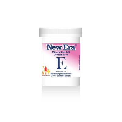 New Era Combination E - For Normal Digestive Health 240 Tablets