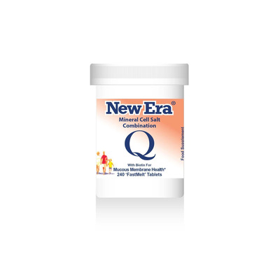 New Era Combination Q - For Mucous Membrane Health 240 Tablets
