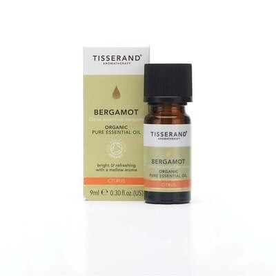 Tisserand Organic Bergamot Essential Oil 9ml